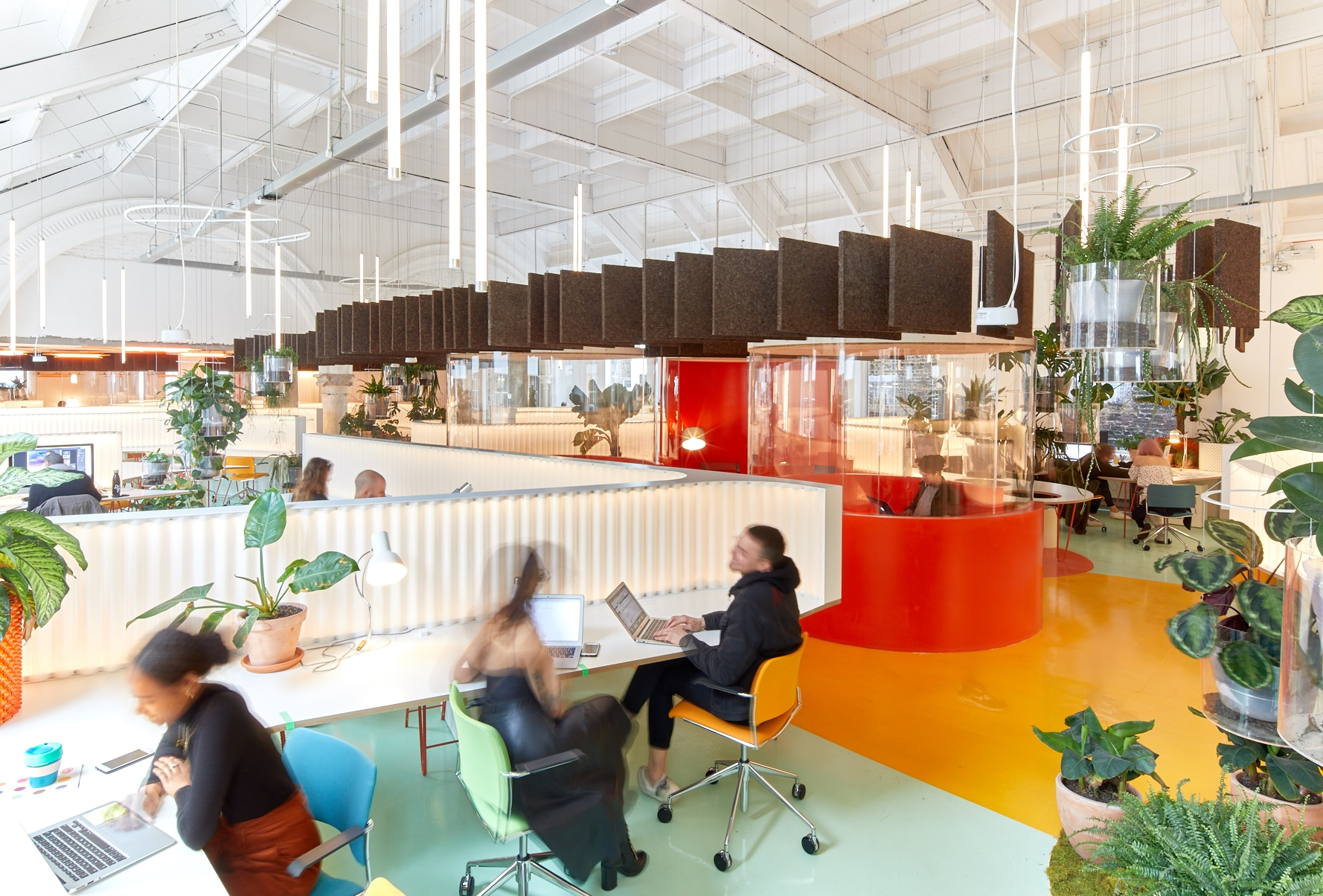 Coworking space at Second Home London Fields